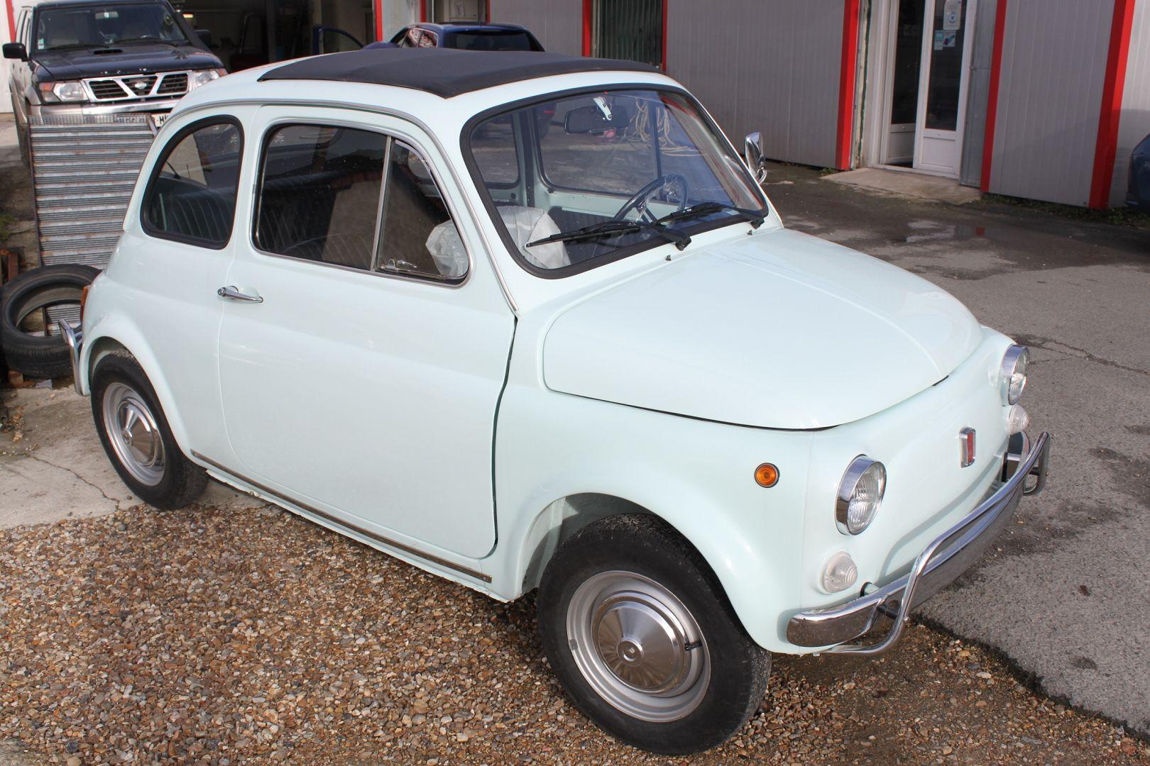 Véhicule FIAT 500 L